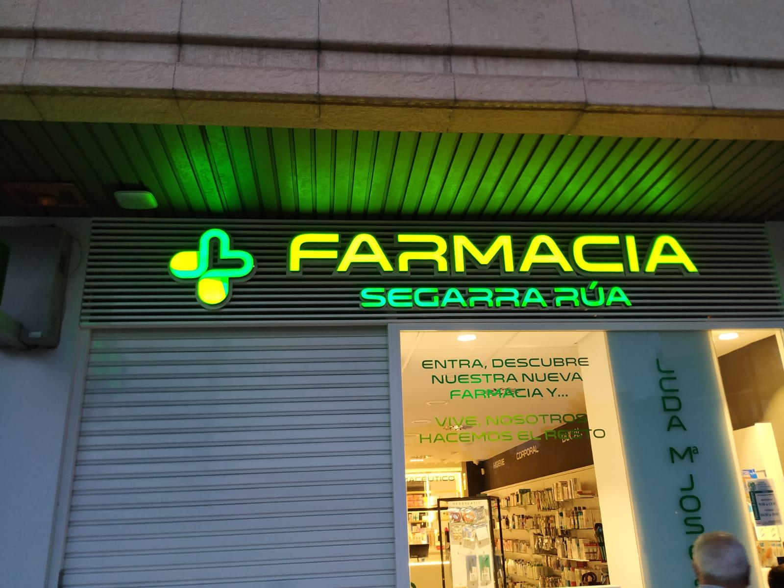Ven a ver la nueva Farmacia Segarra Rúa